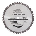 "[FREUD LU81M014]  14"" Diameter X 56T TCG Heavy Duty Multipurpose Carbide-Tipped Saw Blade With 1"" Arbor (.138 Kerf)"