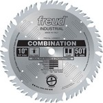 "[FREUD LU84M011] 10"" Diameter X 50T Comb Combination Carbide-Tipped Saw Blade With 5/8"" Arbor (.126 Kerf)"