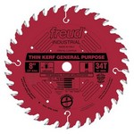 "[FREUD LU86R008] 8"" Diameter X 34T ATB Thin Kerf General Purpose Carbide Tipped Saw Blade With 5/8"" Arbor (.087 Kerf)"