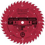 "[FREUD LU86R010]  10"" Diameter X 40T ATB Thin Kerf General Purpose Carbide Tipped Saw Blade With 5/8"" Arbor (.094 Kerf)"