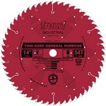"[FREUD LU86R014] 14"" Diameter X 54T ATB Thin Kerf General Purpose Carbide Tipped Saw Blade With 1"" Arbor (.106 Kerf)"