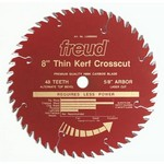 "[FREUD LU88R008] 8"" Diameter X 48T ATB Thin Kerf Fine Finish Crosscut Carbide-Tipped Saw Blade With 5/8"" Arbor (.083 Kerf)"