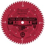 "[FREUD LU88R010] 10"" Diameter X 60T ATB Thin Kerf Fine Finish Crosscut Carbide-Tipped Saw Blade With 5/8"" Arbor (.090 Kerf)"