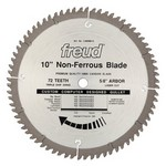"[FREUD LU89M010] 10"" Diameter X 72T TCG Thick Non-Ferrous Metal Carbide-Tipped Saw Blade With 5/8"" Arbor (.122 Kerf)"