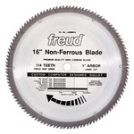 "[FREUD LU89M016] 16"" Diameter X 114T TCG Thick Non-Ferrous Metal Carbide-Tipped Saw Blade With 1"" Arbor (.142 Kerf)"