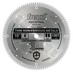 "[FREUD LU90M010] 10"" Diameter X 100T TCG Thin Stock Non-Ferrous Metal Carbide-Tipped Saw Blade With 5/8"" Arbor (.110 Kerf)"