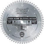 "[FREUD LU91M010] 10"" Diameter X 60T ATB Thin Kerf Sliding Compound Miter Carbide-Tipped Saw Blade With 5/8"" Arbor (.090 Kerf)"