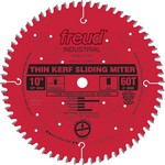 "[FREUD LU91R008] 8-1/2"" Diameter X 48T ATB Thin Kerf Sliding Compound Miter Carbide-Tipped Saw Blade With 5/8"" Arbor (.090 Kerf)"