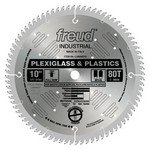 "[FREUD LU94M010] 10"" Diameter X 80T MTCG Plastic Carbide-Tipped Saw Blade With 5/8"" Arbor (.110 Kerf)"