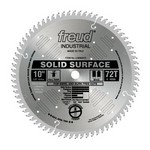 "[FREUD LU95M010] 10"" Diameter X 72T TCG Solid Surface Carbide-Tipped Saw Blade With 5/8"" Arbor (.126 Kerf)"
