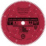 "[FREUD LU96R012] 12"" Diameter X 96T Coated Thin Kerf Carbide-Tipped Double Sided Laminate Saw Blade With 1"" Arbor (.091 Kerf)"