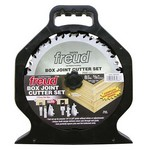 "[FREUD SBOX8]  8"" Diameter Box Joint Cutter Set (1/4"" & 3/8"" Joints)"
