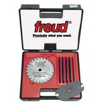 "[FREUD SD306]  6"" Diameter X 18T Safety Dado Carbide-Tipped Saw Blade Set With 5/8"" Arbor"