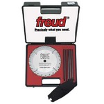 "[FREUD SD308]  8"" Diameter X 22T Safety Dado Carbide-Tipped Saw Blade Set With 5/8"" Arbor"