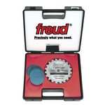 "[FREUD SD506]  6"" Diameter X 20T Super Dado Carbide-Tipped Saw Blade Set With 5/8"" Arbor"