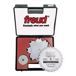 "[FREUD SD508]  8"" Diameter X 24T Super Dado Carbide-Tipped Saw Blade Set With 5/8"" Arbor"