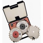 "[FREUD SD606]  6"" Diameter X 24T Dial-A-Width Dado Carbide-Tipped Saw Blade Set With 5/8"" Arbor"