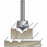 "[WOODWORKERS CHOICE 6432]  1/4""R Pt.Cut. Round Over Bit"