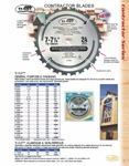 "[TIMBERLINE 12100-30]  Ti-Cut Saw 12""/100T ATB 30mm"