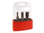 "[WHITESIDE 470]  3pc. Undersized Router Bit Set (1/2"" Shank)"